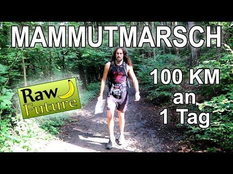 100 KM. 24 Stunden. Zu Fuß - so klappt der Mammutmarsch mit Barfußschuhen und Rohkost