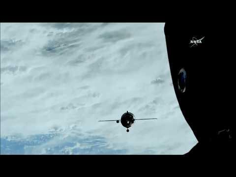 Soyuz MS-08 Docking & Hatch Opening