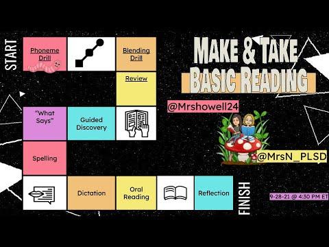 Make and Take: Basic Reading - YouTube