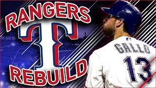 TEXAS RANGERS REBUILD | MLB the Show 18 Franchise Rebuild