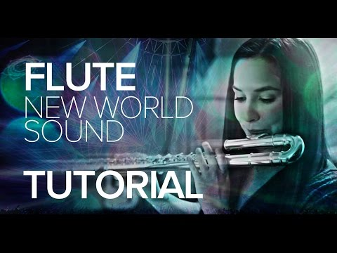 New World Sound & Thomas Newson - Flute (Tutorial by Gina Luciani)