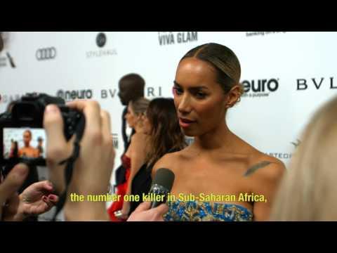 Leona Lewis and Philanthropy: Elton John's Oscar Gala