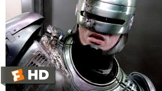 RoboCop (8/11) Movie CLIP - RoboCop vs. ED 209 (1987) HD