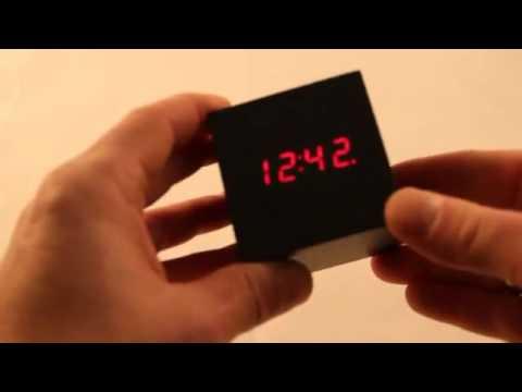Clap On Cube Alarm Clock   Sese Duyarlı Küp Saat Nice Ideas