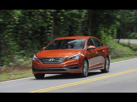 Here's the 2015 Hyundai Sonata on Everyman Driver