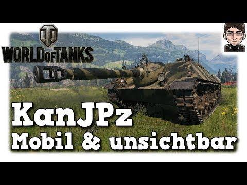 World of Tanks - Kanonenjagdpanzer , mobil & unsichtbar [deutsch | gameplay] thumbnail