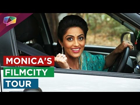 Monica Khanna tours the filmcity