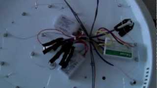 видео Детали производства LED потолочной люстры 20W Арт.997-011
