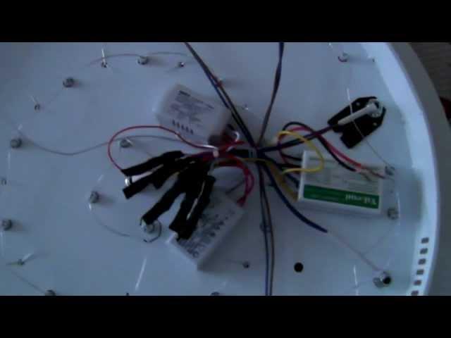Ремонт светодиодной люстры (не