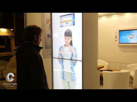 Life Watch (Interactive Totem - GSMA Barcelona)