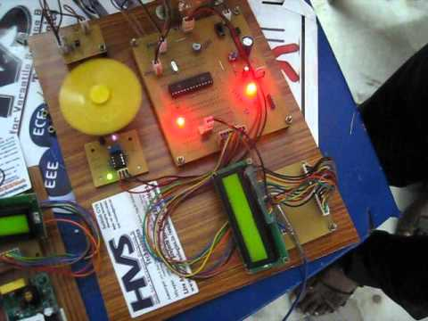PLCC power line carrier communication based DC motor speed synchronisation