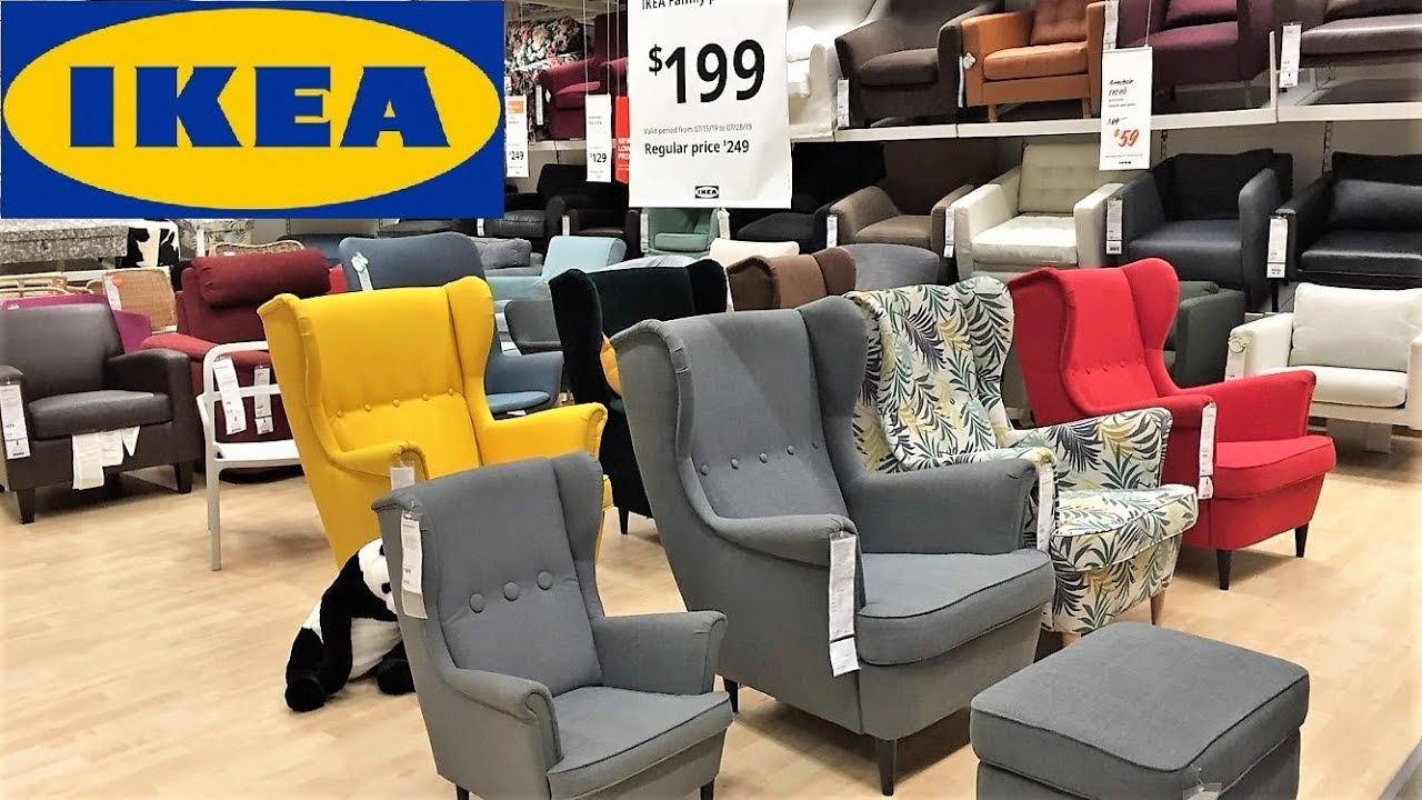 Ikea Coffee Tables Armchairs Chairs Living Room Furniture Shop With Me Shopping Store Walk Through Youtube