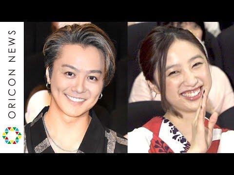 exile・takahiro、侵入経路は「股間ですかね」ハプニングで蛾が服に...-e-girls坂東希も共演-映画『3人の信長』舞台あいさつ付き完成披露上映会