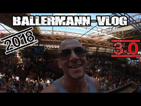 Ballermann 2018 3.0 Vlog   in 4K UHD