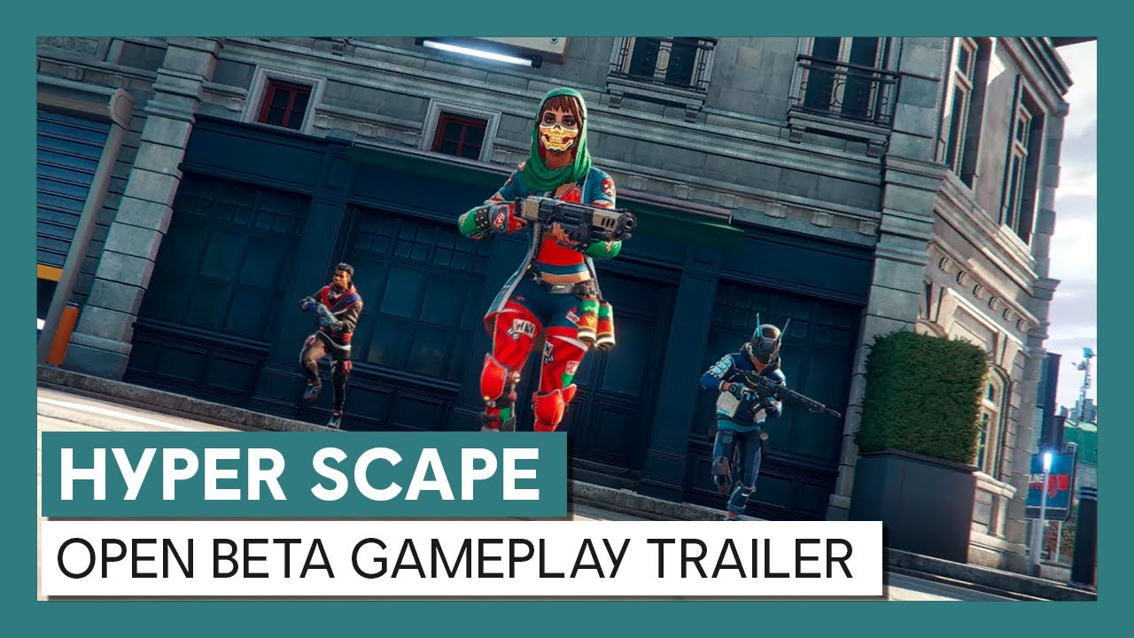 Hyper Scape: Open Beta Gameplay Trailer
