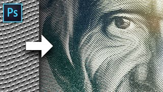 This Magic Texture Creates an Engraved Money Effect in Photoshop!