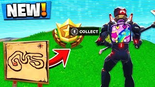 Follow the Treasure Map found in Salty Springs Location! Fortnite Week 3 Challenges!