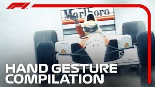 F1 Hand Gesture Compilation!