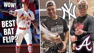 BAT FLIP of The Year? New York Yankees CLINCH Postseason Spot! Atlanta Braves Clinch! MLB Recap