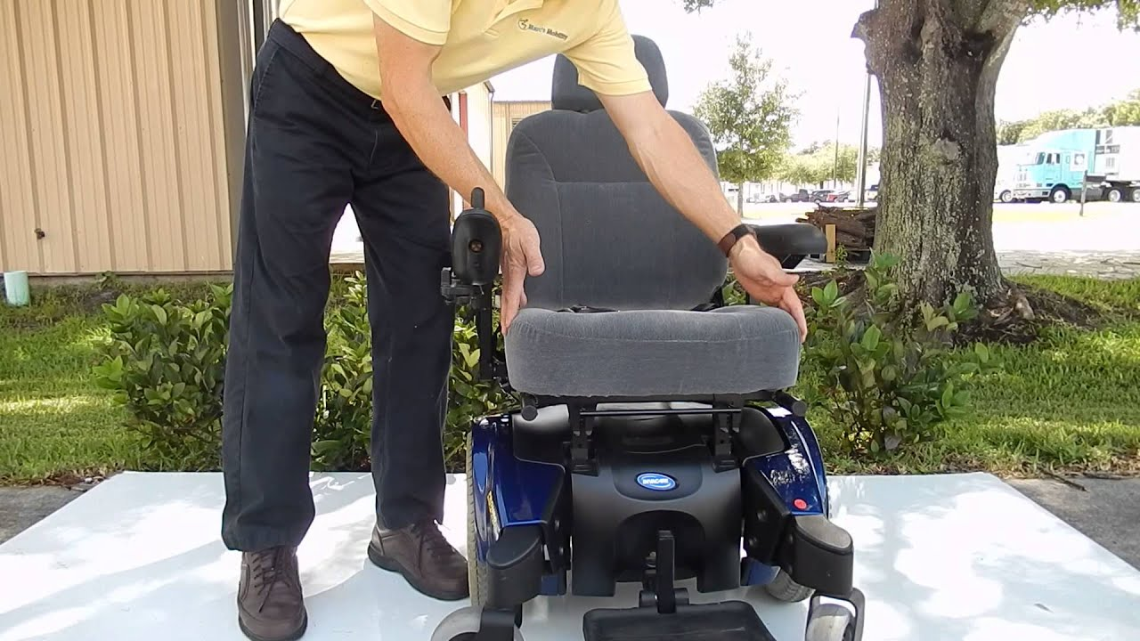 Pronto Power Chair Pronto M91 Blue Basic 6 5 Mph Power Chair 300 Lbs Weight