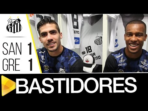 Santos 1 x 1 Grêmio | BASTIDORES | Brasileirão (16/10/16)
