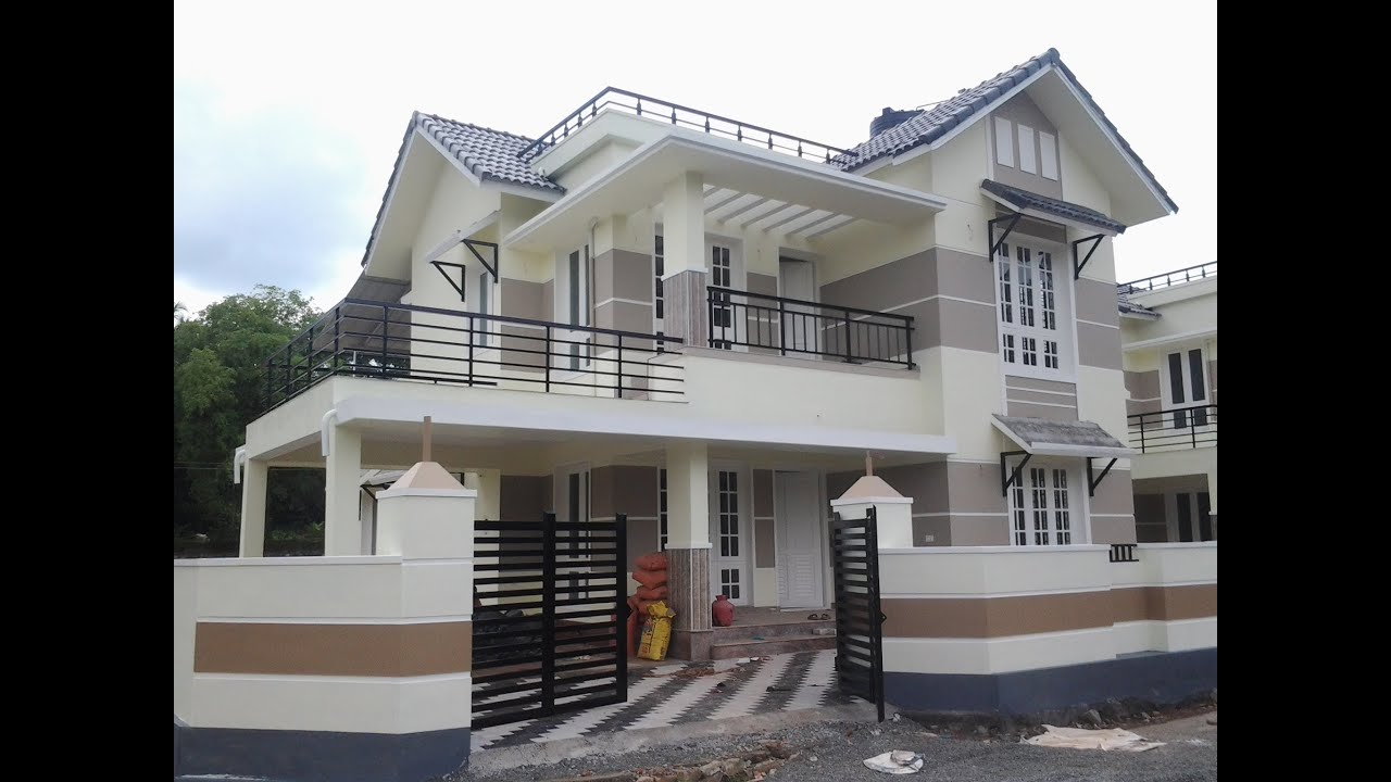 Villa for sale in kerala ernakulam aluva angamaly for New model veedu photos