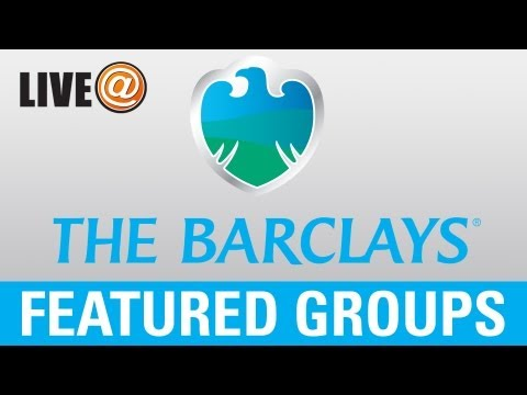 LIVE@ The Barclays - Featured Groups Aug. 25 (U.S. fans use