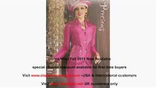 Womens Church Suits-Church Suits For Women- Donna Vinci Suits-Occasion Dresses Coupons