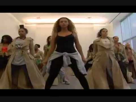 Beyonce Rehearsing Ring The Alarm for the mtv music video awards 2006