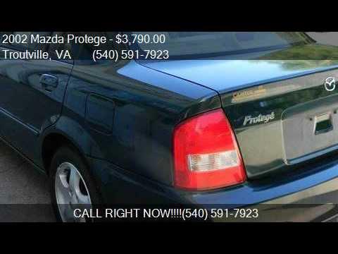2002 Mazda Protege LX 4dr Sedan for sale in Troutville, VA 2