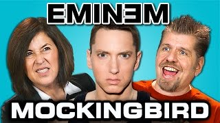 Repeat youtube video EMINEM - MOCKINGBIRD (REACT: Lyric Breakdown)