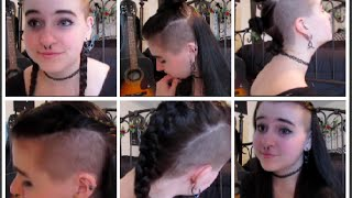 How I Style My Mohawk | Symphonie Cameron