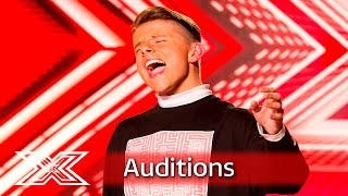 James Hughes has got some serious soul | Auditions Week 1 | The X Factor UK 2016
