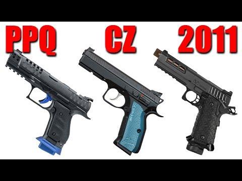 PPQ Steel Frame Match Vs CZ Shadow 2 Vs 2011 Pistol