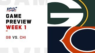 Green Bay Packers vs. Chicago Bears | Week 1 Game Preview | Move the Sticks