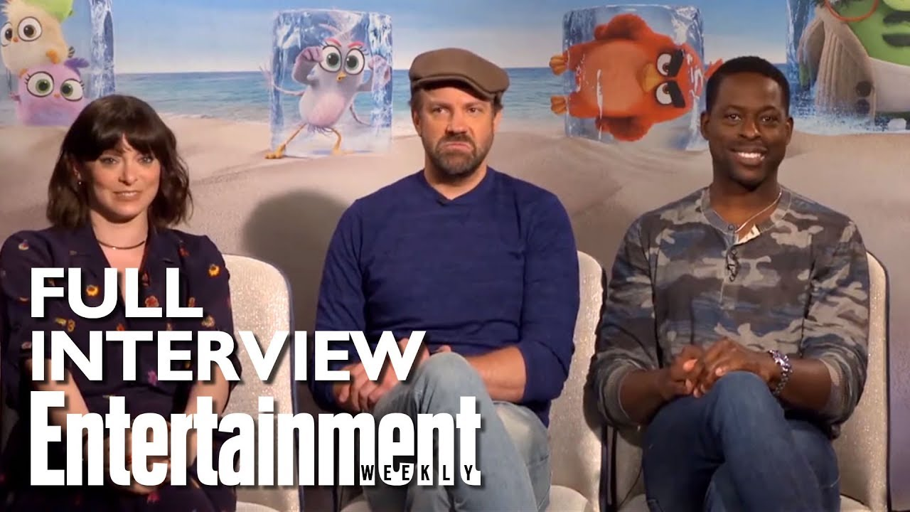 Angry Birds 2 Roundtable: Rachel Bloom, Jason Sudeikis & Sterling K. Brown