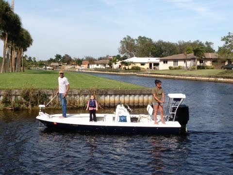 Fort lauderdale florida new river canal fishing report for Florida canal fishing