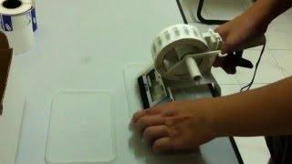 manuel etiketleme makinası