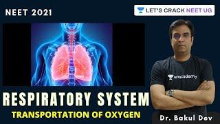 Respiratory System: Transportation of Oxygen | NEET Biology | NEET 2021 | Dr. Bakul Dev