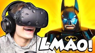 LEGO BATMAN IN VIRTUAL REALITY!  | Lego Batman VR Experience (HTC Vive Gameplay)