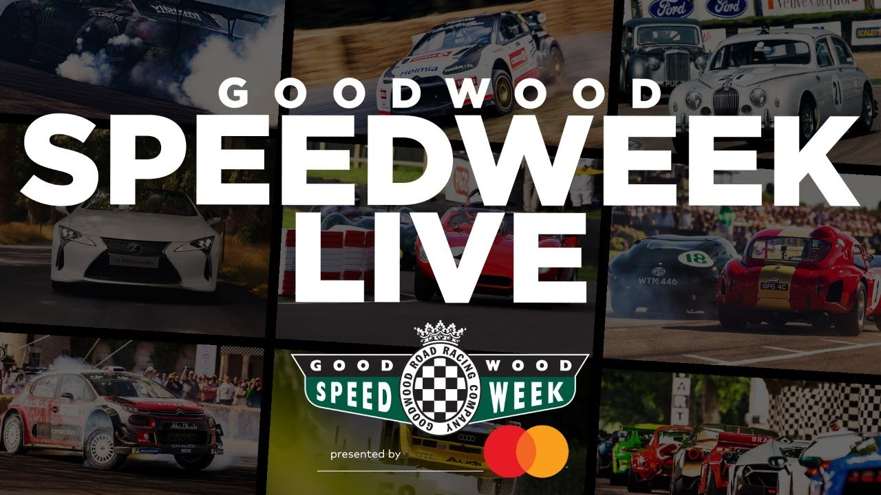 (1) Goodwood SpeedWeek live stream – YouTube