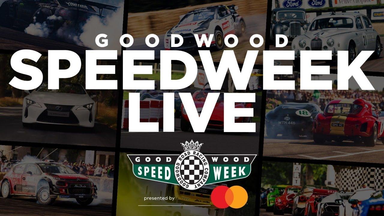(1) Goodwood SpeedWeek live stream – YouTube