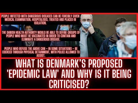 """ NEWS  Denmark's """"Epidemic Law"""""""