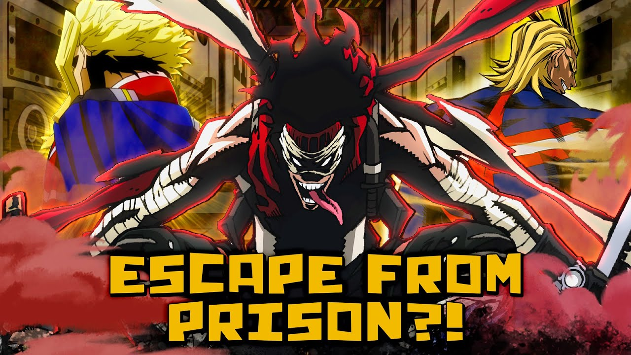 Would Stain PROTECT All Might? The Stain's ESCAPE Theory! -  My Hero Academia Prison Break Arc Idea