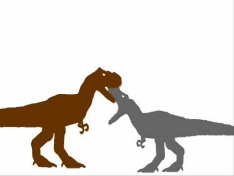 PDBA - Albertosaurus VS Alioramus