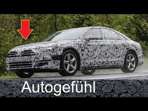 New Audi A8 spy shots Erlkönig- Autogefühl