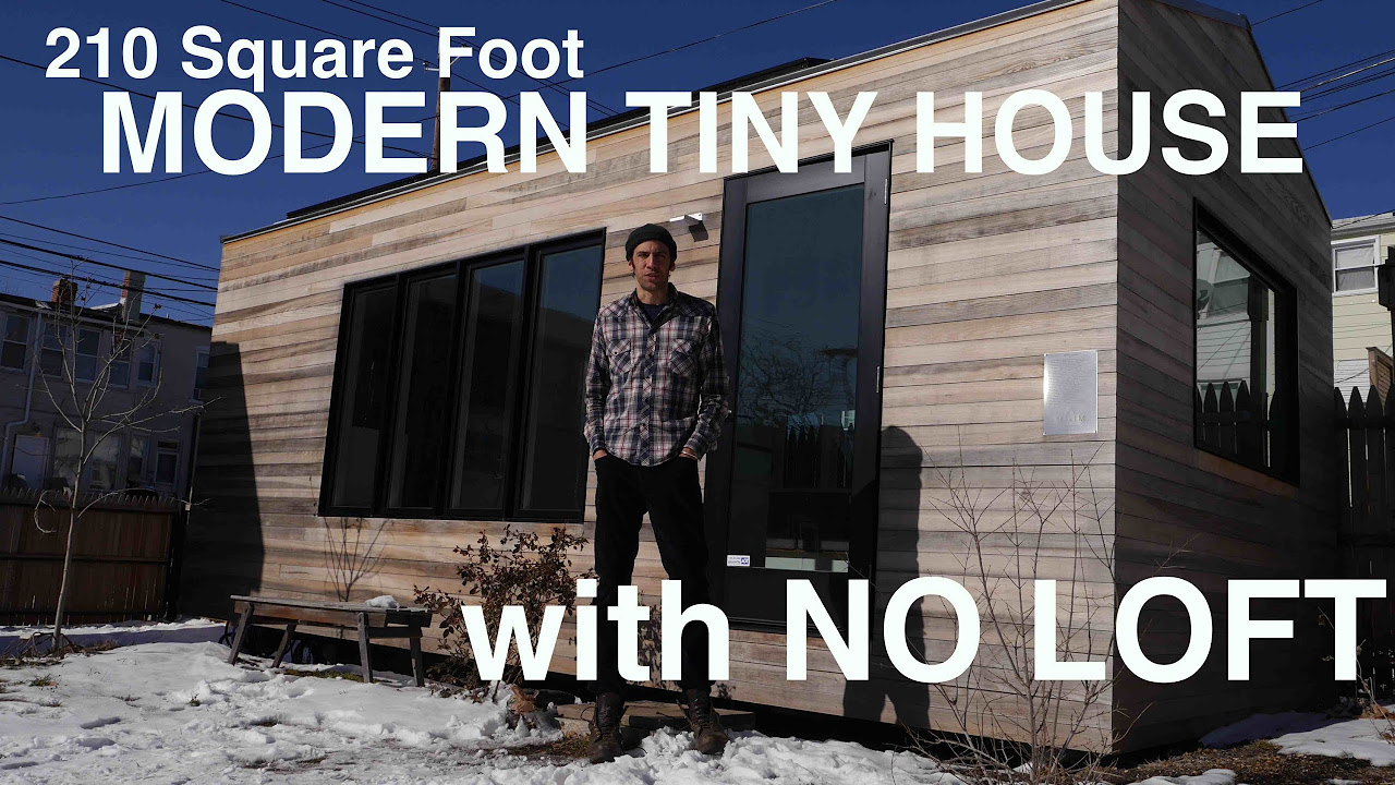 Tiny House with No Loft Minim Tiny Home Happy Tiny