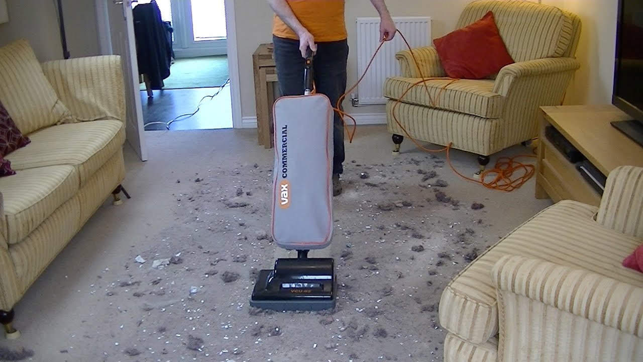Vax Vcu 02 Commercial Upright Vacuum Cleaner Extreme Mess