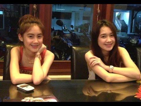 Chichi [HD] จีจี้ สาวลาว เขินมากๆโดนสัมภาษณ์ ที่ Singapore
