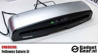 Unboxing: Fellowes Saturn 3i (Laminator)
